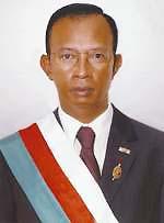 Председатель Сената Мадагаскара Е.П. Ракутумахару Радземисон