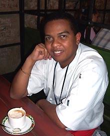 Шеф-повар Туки. Фото И.Сида.