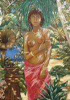 7 марта: в Инфоцентре ООН окрыта выставка мадагаскарского художника Фофы Рабеаривело «ПОТЕРЯННЫЙ РАЙ».