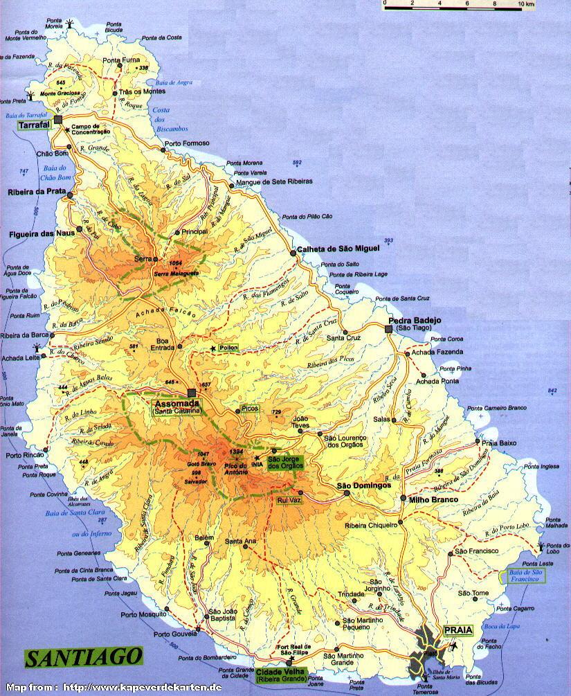 Кабо-верде где находится