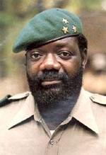 Ж. Савимби - бессменный лидер УНИТА с момента его создания 15 марта 1966 года до 22 февраля 2002 года.