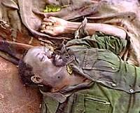 Ж. Савимби был главным виновником многолетней гражданской войны в Анголе.